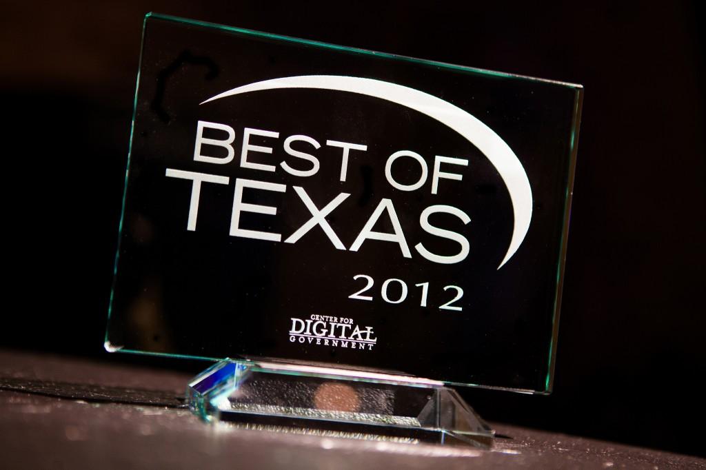 Best of Texas award