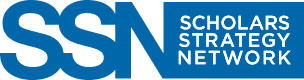 Scholars Strategy Network banner