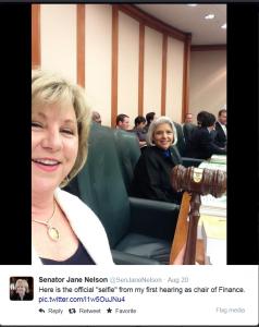 Senator Nelson' Selfie