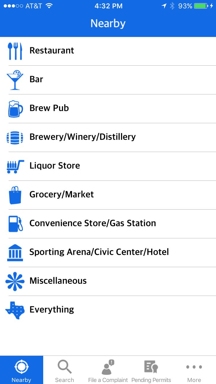 app screenshot showing asterisk icon labeled Miscellaneous